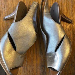Bandolino Gold Heels